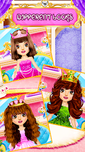 screenshot of Hair Saloon Color by Number - Girls Fashion Games version 1.7