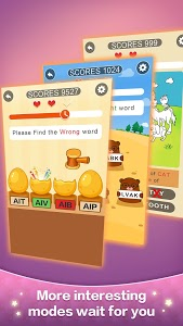 screenshot of Happy Word - A crossword puzzle version 0.99