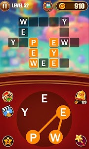 screenshot of Happy Word Connect - Addictive Free Word Game version 1.0