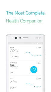 screenshot of Health Mate - Total Health Tracking version Varies with device