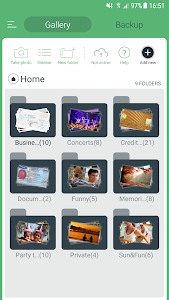 screenshot of Hide Pictures, Hide Photos & Videos, Gallery Vault version 4.2