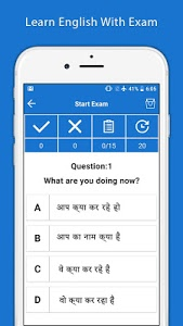 screenshot of Hindi English Translator - English Dictionary version 1.44