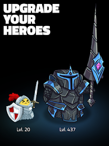 screenshot of Hopeless Heroes: Tap Attack version 2.0.16