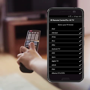 screenshot of IR Remote Control For All TV version 4.8