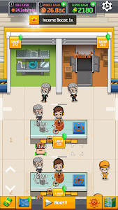screenshot of Idle Factory Tycoon version 1.82.0