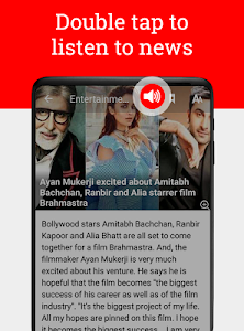 screenshot of India News by NewsPoint: Latest, Breaking News App version 3.5.2