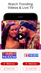 screenshot of India News,Latest News App,Top Live News Headlines version 4.2.0.3