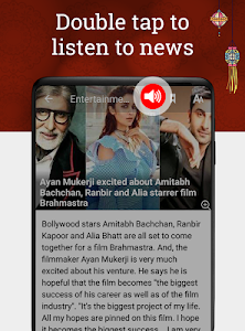 screenshot of India News by NewsPoint: Latest, Breaking News App version 3.4.3