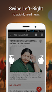 screenshot of India News - Breaking News version 2.0.9.5
