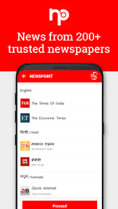 screenshot of NewsPoint - India News, Latest News, Breaking News version 3.2.7