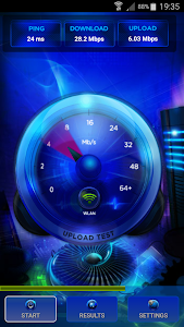 screenshot of V-SPEED Speed Test version Varies with device