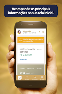 screenshot of Itaú Personnalité version 5.0.9