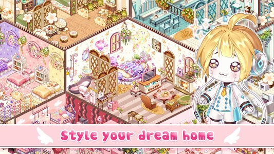 screenshot of Kawaii Home Design - Decor & Fashion Game version 0.6.4