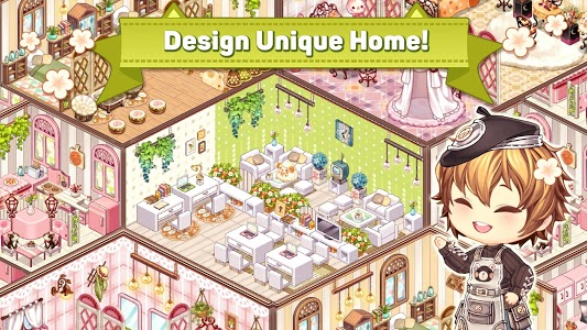 screenshot of Kawaii Home Design - Decor & Fashion Game for Girl version 0.3.0