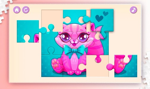 screenshot of Kids Puzzles for Girls version 1.10.14