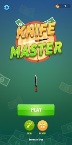 screenshot of Knife Master version 1.1.9