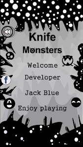 screenshot of Knife VS Monsters :Black version 1.0