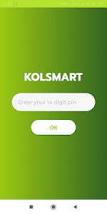 screenshot of Kolsmart version 1.0.1