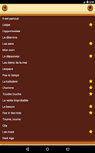 screenshot of La cave aux enigmes version Varies with device