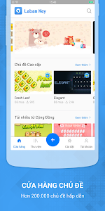 screenshot of Laban Key Go Tieng Viet version Varies with device