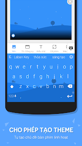 screenshot of Laban Key Go Tieng Viet version LabanKey-3.1.0-r6