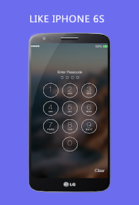 screenshot of Lock Screen - Iphone Lock version 3.2.6