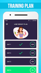 screenshot of Lose Weight In 30 Days version 1.20