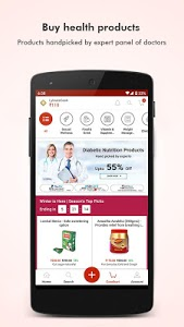 screenshot of Lybrate - Consult a Doctor version 3.2.2