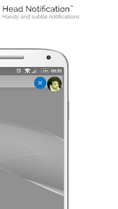 screenshot of mood messenger - SMS & MMS messaging version 1.69v