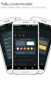 screenshot of mood messenger - SMS & MMS messaging version 1.68t