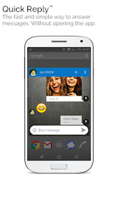 screenshot of Mood Messenger - SMS & MMS version 1.39a