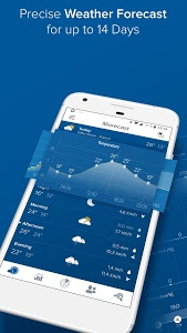 screenshot of Morecast - Your Personal Weather Companion version 4.0.5