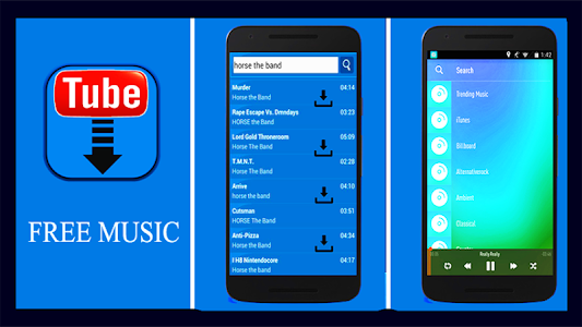 screenshot of MP3 Music Downloader Free - HD Video Movie Player. version 2.2