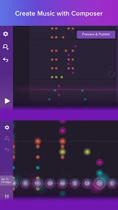 screenshot of Magic Piano by Smule version 2.9.1
