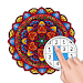 Mandala Color by Number: Coloring Book for Adults