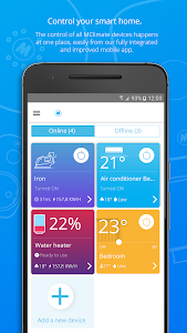 screenshot of M Melissa Climate version 2.4.5