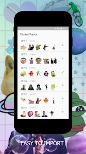 screenshot of Meme Stickers for WA - WAStickerApps version 1.3