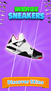 screenshot of Merge Sneakers! - Grow Sneaker Collection version 4.7