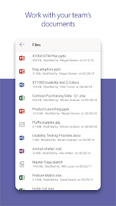 screenshot of Microsoft Teams version 1416/1.0.0.2019061803
