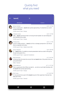 screenshot of Microsoft Teams version 1416/1.0.0.2018081401