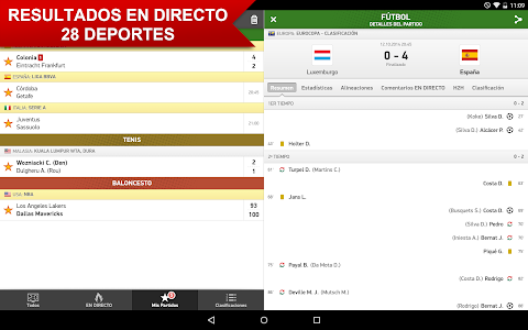 screenshot of Mis Marcadores version 2.3.0
