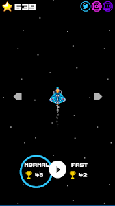 screenshot of Missiles in Space version 1.1.0