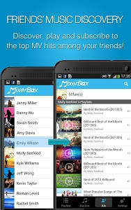 screenshot of MixerBox: Unified Music Player version 5.67