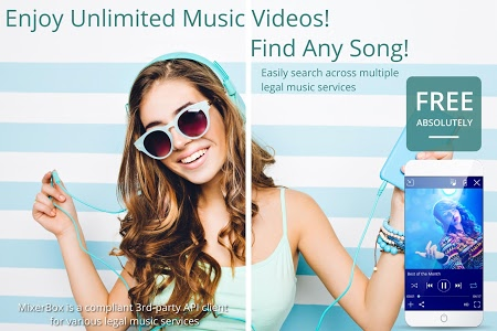 screenshot of ▶Download Now◀Unlimited Free Music MP3 Player version Varies with device