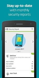 screenshot of Mobile Security & Antivirus version Varies with device