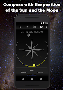 screenshot of Moon Phase Calendar version 1.33
