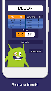 screenshot of Mr Jotto - The Classic Word Game version 7.0.3