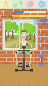 screenshot of Muscle clicker: Gym game version 1.4