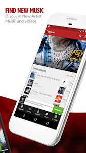screenshot of My Mixtapez Music version 7.8.11