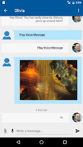 screenshot of Nearby - Chat, Meet, Friend version Varies with device